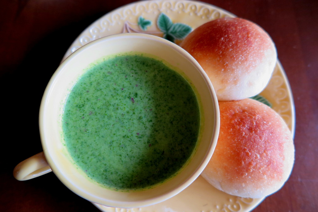小松菜potage