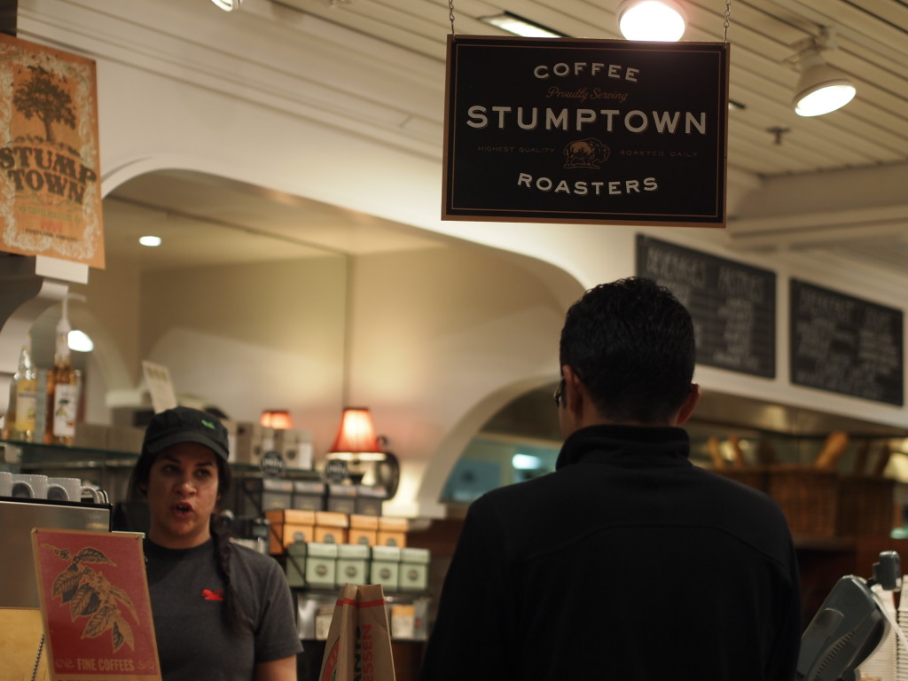 vege8 stumptown coffee