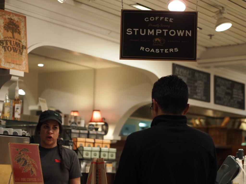 vege8 stumptown coffee