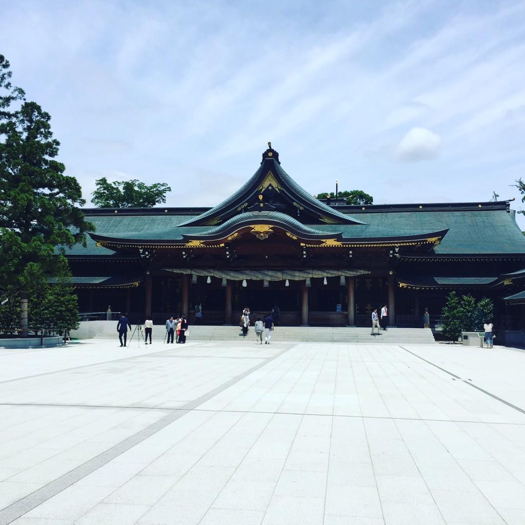 vege8 寒川神社