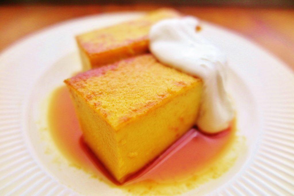 かぼちゃの豆乳プリン vege8