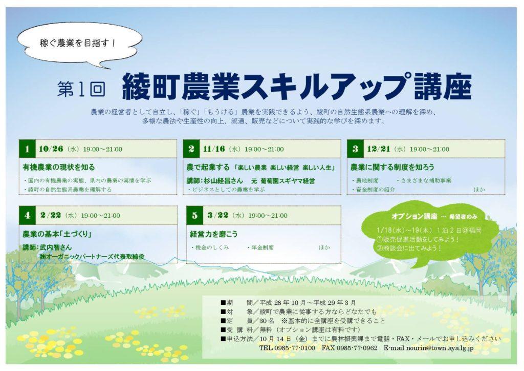 vege8 農業スキルアップ講座