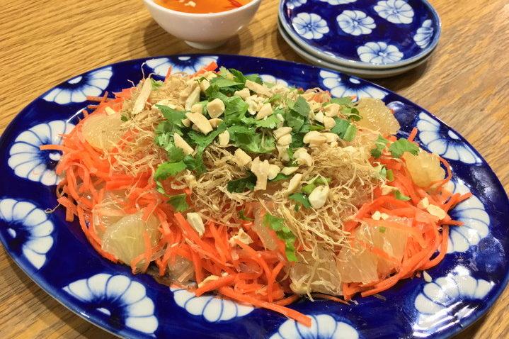 伊藤忍先生 人参と文旦のベトナム風サラダ