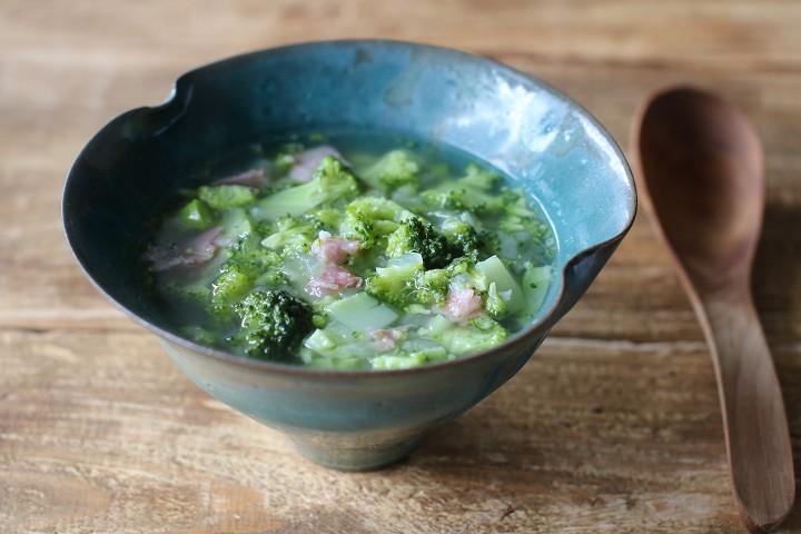 vege8 有機ブロッコリーのくたくたスープ